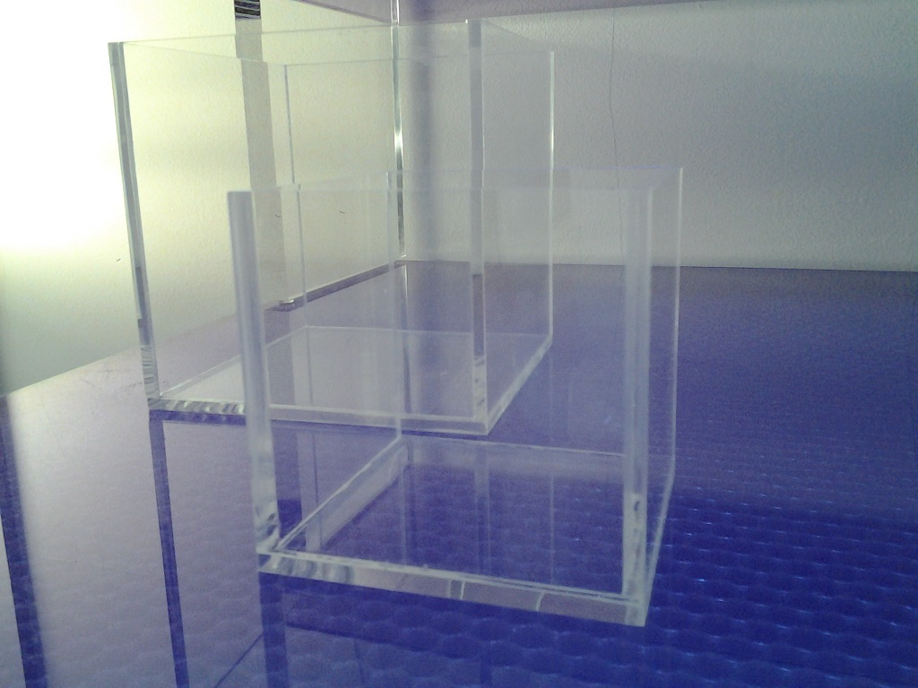 Scatole in plexiglass