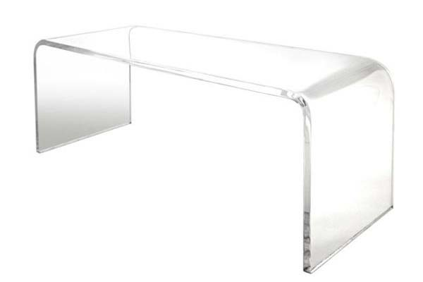 TAVOLINO CAFFE' IN PLEXIGLASS - COFFEE TABLE